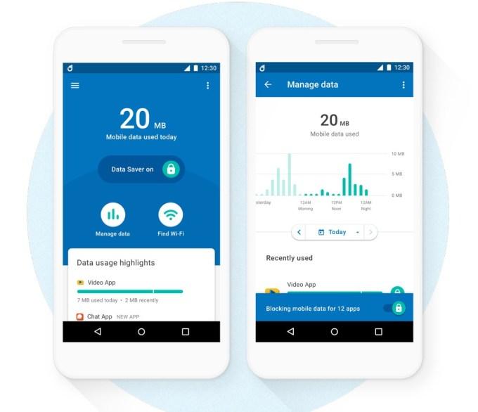 Datally aplikacja do zarządzania danymi komórkowymi (Google)