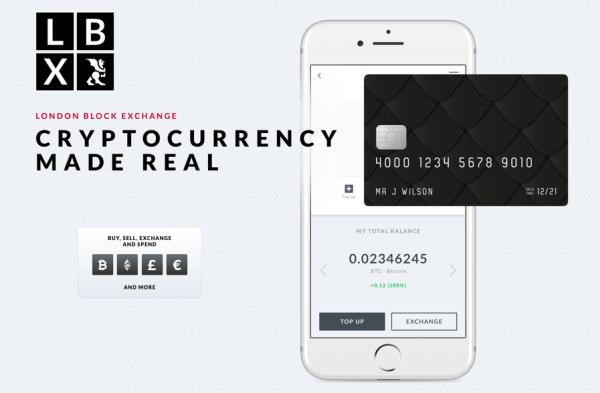 Nowa karta Visa LBX traktuje Bitcoiny jak normalne pieniądze