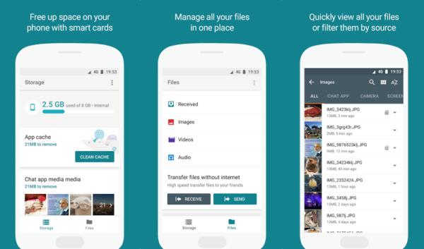 """Google testuje aplikację mobilną """"Files Go"""""""