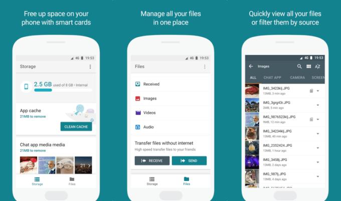 """Aplikacja mobilna """"Files Go"""" od Google'a"""