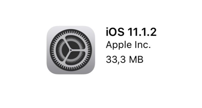 Aktualizacja systemu IOS 11.1.2 w trybie OTA