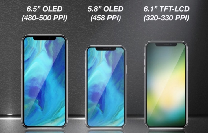 3 nowe iPhone'y w 2018 roku?