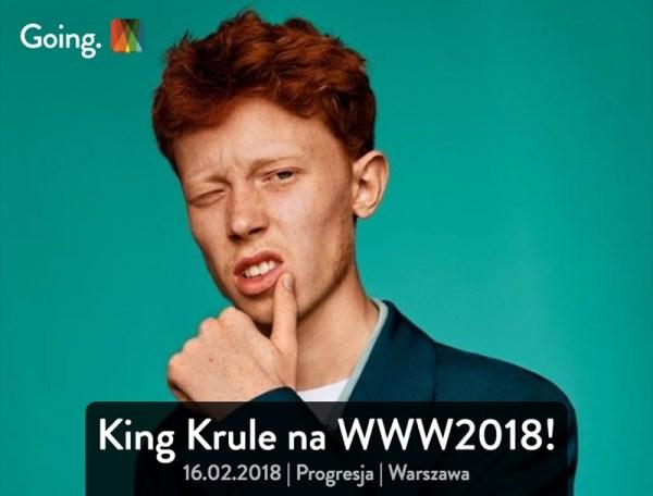 """Bilety na koncert King Krule w aplikacji mobilnej """"Going."""""""