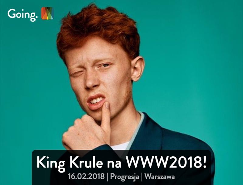 King Krule na WWW2018 w Warszawie (going.)