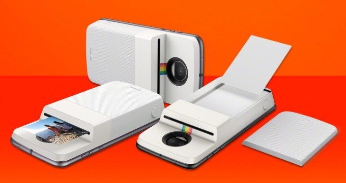 Polaroid Insta-Share Printer Moto Mod