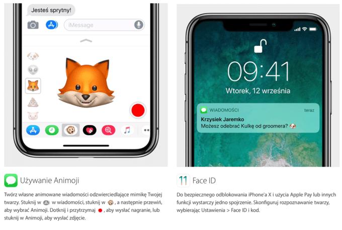 Porady iPhone X: korzystanie z Animoji i Face ID