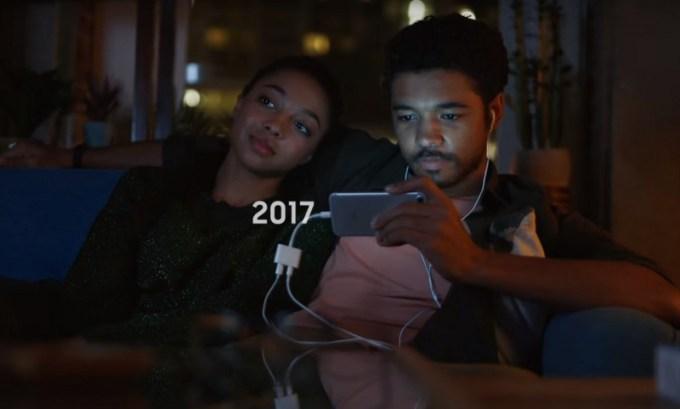 Samsung vs. iPhone - spot 2017