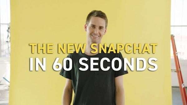 Nowy Snapchat oddziela posty znajomych od treści publicznych
