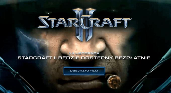 StarCraft II dostępny bezpłatnie od 14 listopada 2017 r.