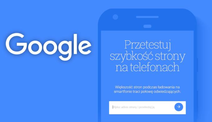Test szybkości stron mobilnych od Google'a