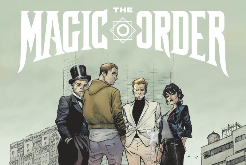 """""""The Magic Order"""" - okładka komiksu Netflixa"""