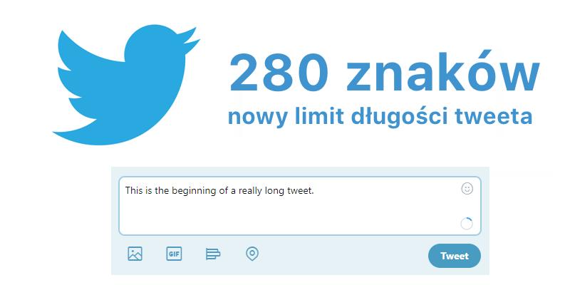 280 znaków - nowy limit tweeta na Twitterze