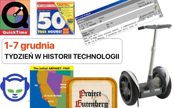 [1-7 grudnia] Tydzień w historii technologii