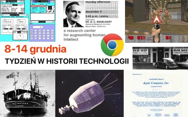 [8-14 grudnia] Tydzień w historii technologii