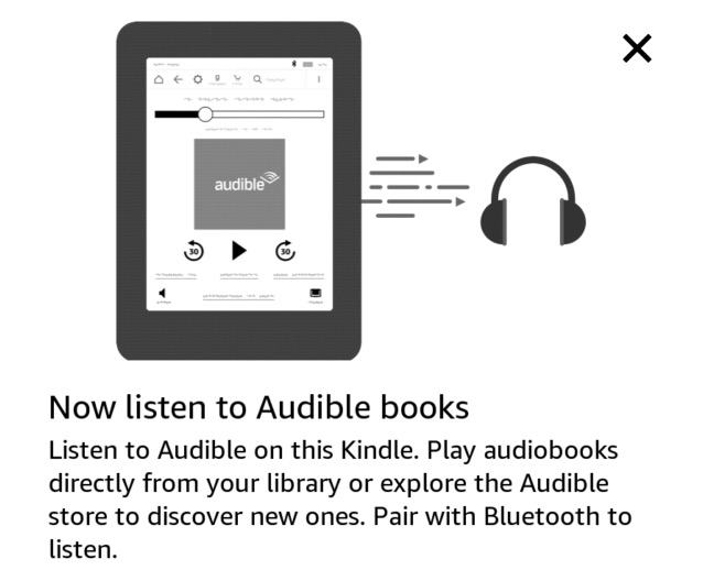 Audible w oprogramowaniu Kindle 5.9.2.0.1