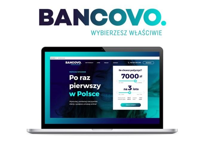 Bancovo. nowy pośrednik finansowy online