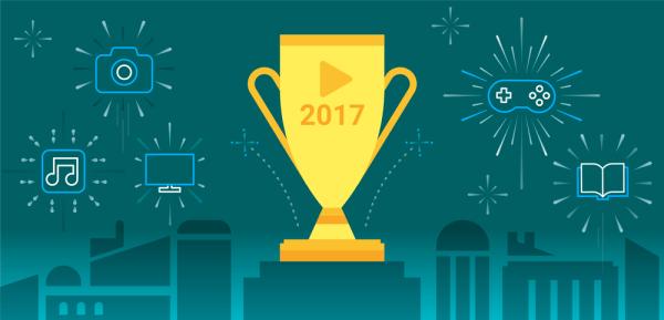 """Lista """"Best of 2017"""" w sklepie Google Play"""