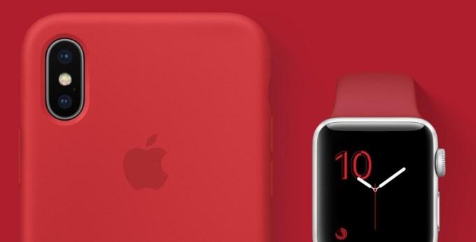 Czerwone produkty i akcesoria Apple'a Product RED