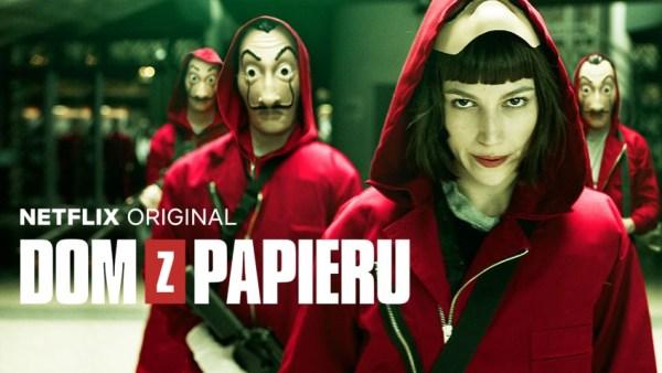 """Hiszpański thriller """"Dom z papieru"""" już w serwisie Netflix"""