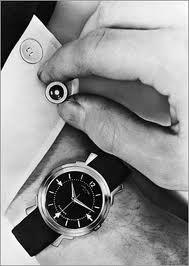 Pierwszy zegarek elektryczny