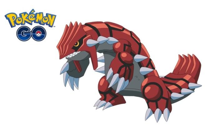 groudon w Pokemon GO do 15 stycznia 2018 r.