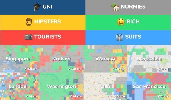 Mapy Hoodmaps pokażą, kto rządzi na Twojej dzielni!