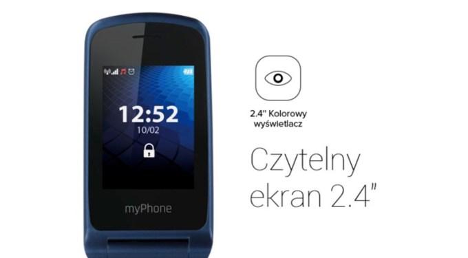 """myPhone Flip 3 (czytelny ekran 2,4"""")"""