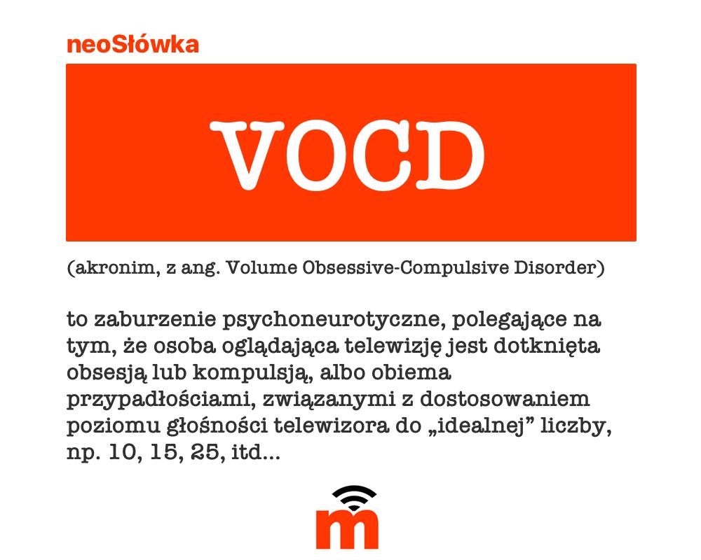 VOCD - Volume Obsessive-Compulsive Disorder