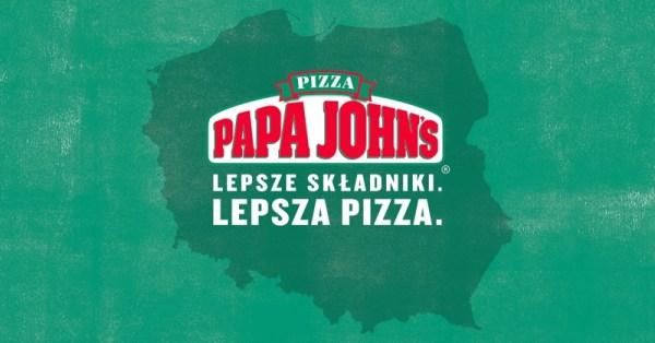Papa John's Pizza wystartuje w Polsce 15 grudnia 2017 r.