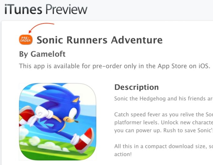 Opcja Pre-order w sklepie iTunes