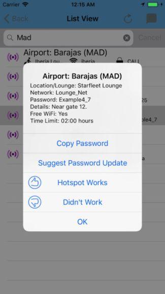 Aplikacja WiFox (screen)