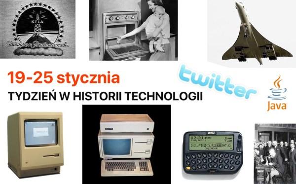 [19-25 stycznia] Tydzień w historii technologii