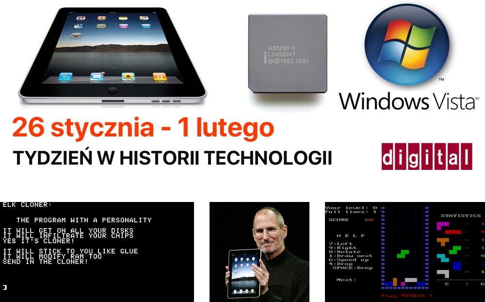 26 stycznia - 1 lutego - Tydzień w historii technologii