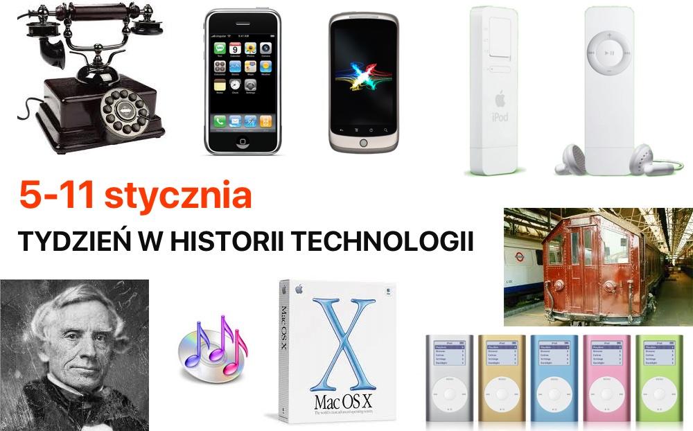 5-11 stycznia - Tydzień w historii technologii
