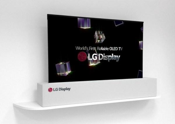 65-calowy telewizor LG z rolowanym ekranem OLED