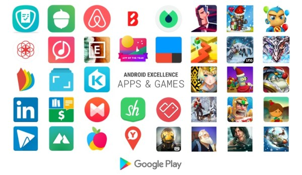 Najlepsze gry i aplikacje mobilne Android Excellence w 1Q 2018 r.