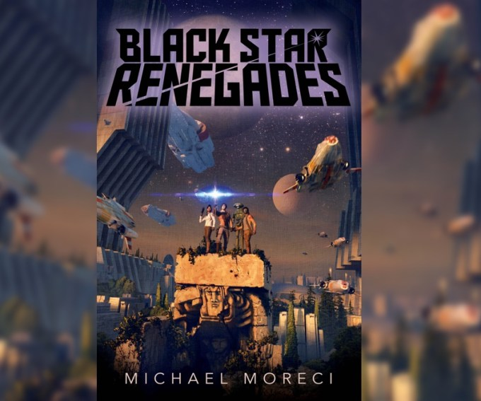 "Okładka książki ""Black Star Renegades"" (Michael Moreci)"