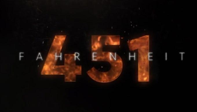 """Zapowiedź filmu """"Fahrenheit 451"""" (HBO 2018)"""