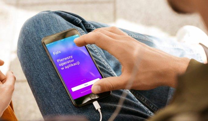 Folx - pierwszy operator komórkowy w aplikacji mobilnej