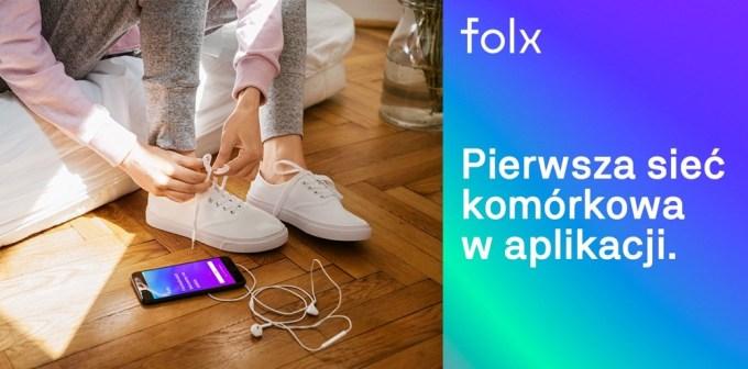 Folx - pierwsza sieć komórkowa w aplikacji mobilnej.