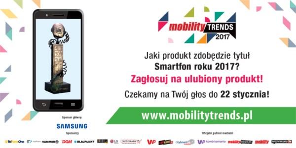 VIII edycja Mobility Trends: zagłosuj na najlepszych w 2017 roku