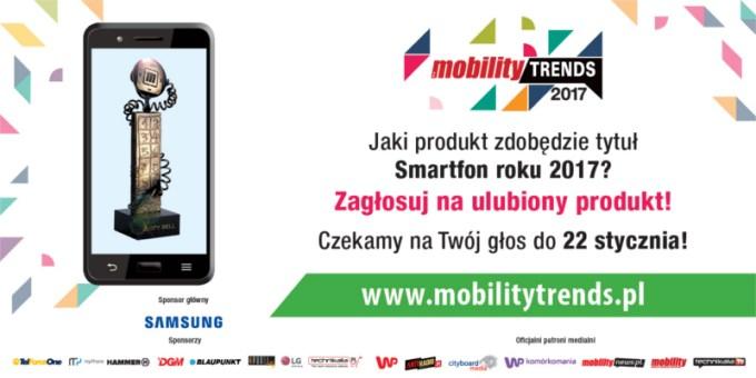 Zagłosuj na najlepszych (8. edycja Mobility Trends 2017)