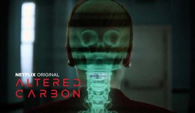 Modyfikowany węgiel (oryg. Altered Carbon) Netflix - oficjalny zwiastun serialu
