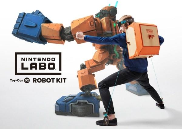 Zestawy Nintendo LABO dostępne w przedsprzedaży