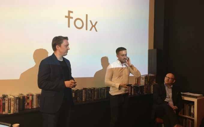 Zdjęcie z premiery sieci Folx