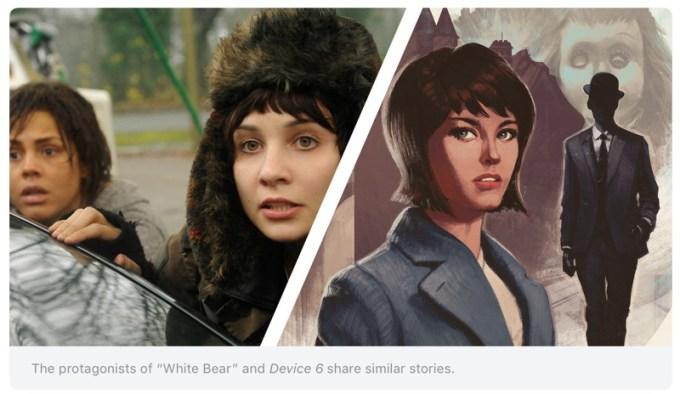 """White Bear""/""Device 6"""