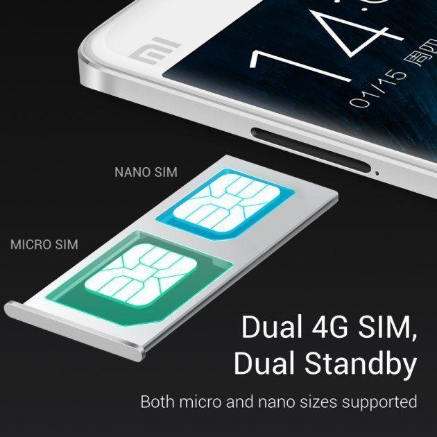 Xiaomi Mi Note (dual SIM)