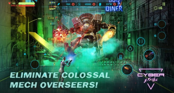 Screen z gry mobilnej Cyber Strike