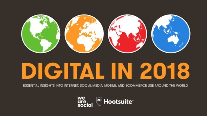 Digital, mobile i social media na świecie w 2018 roku