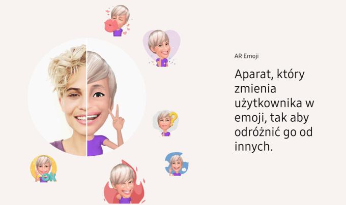 Animowane Emoji w Galaxy S9